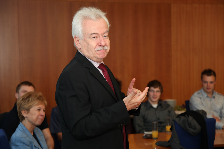 Setkání studentů, sportovců s rektorem VŠE