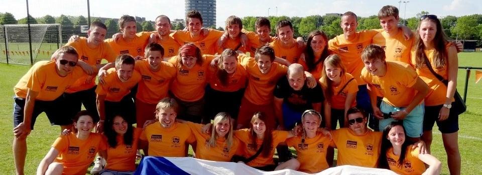 Fotbalisté VŠE úspěšně reprezentovali v Holandsku