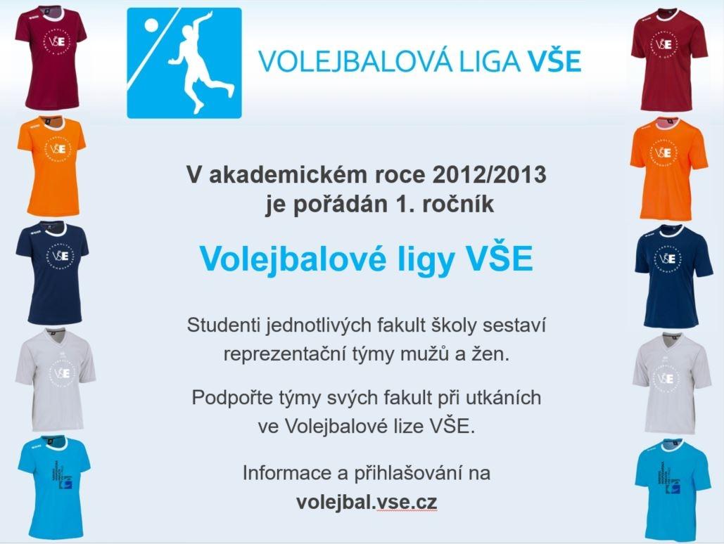 Studenti úspěšně reprezentují své fakulty ve Volejbalové lize VŠE