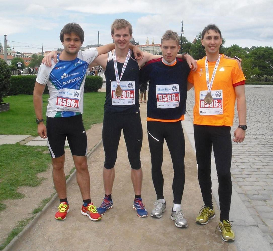 Studenti VŠE úspěšní na Pražském maratonu 2014