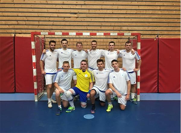 Futsalový tým školy na kvalifikaci pro České akademické hry 2018