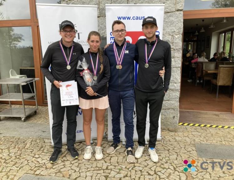 Akademické mistrovství ČR 2020 v golfu s účastí VŠE