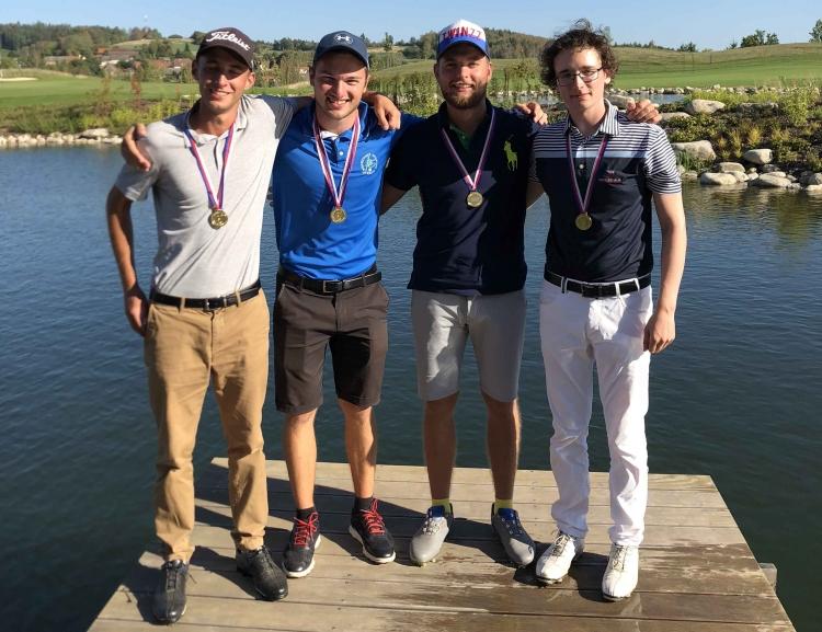 Studenti školy získali tituly Akademických mistrů ČR v golfu