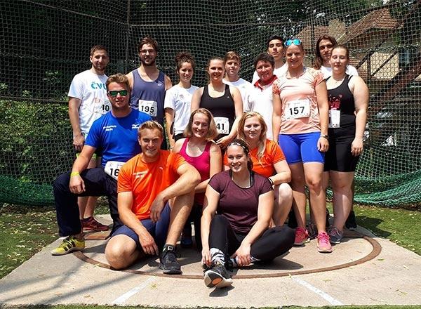 Atletika na Českých akademických hrách