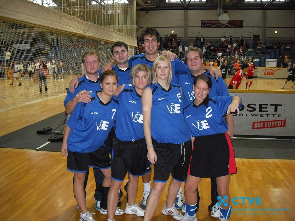 Volejbalisté naší školy se zúčastnili mezinárodního turnaje univerzit v německém Koblenz – Euromasters 2010