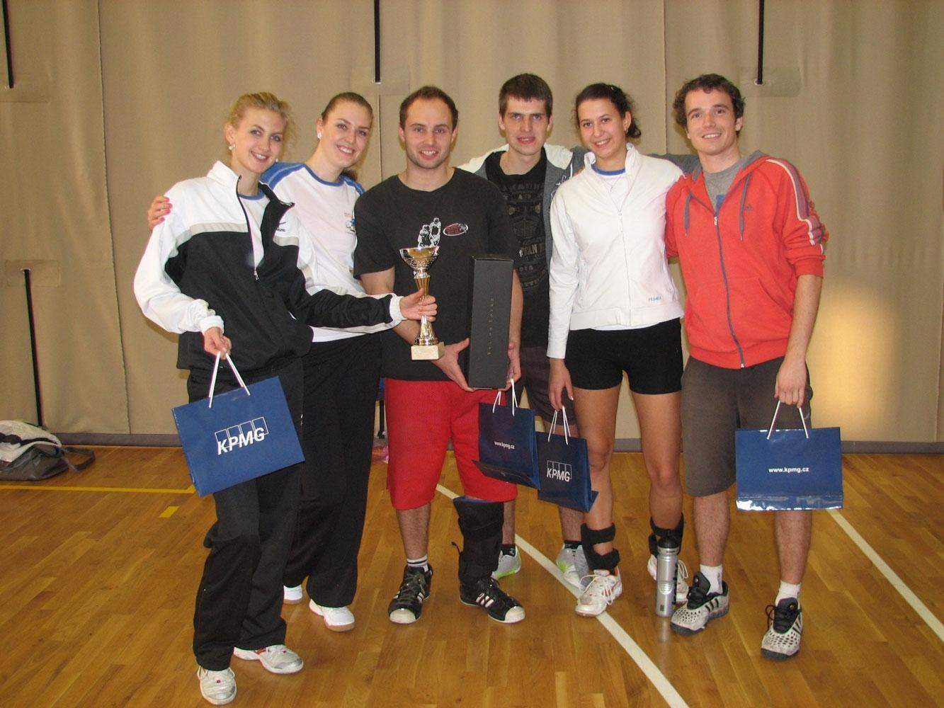 Turnaj smíšených družstev ve volejbale – KPMG Fit Cup 2012 – 1. 12. 2012