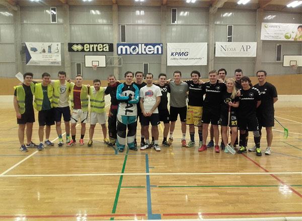 Florbalový turnaj smíšených týmů