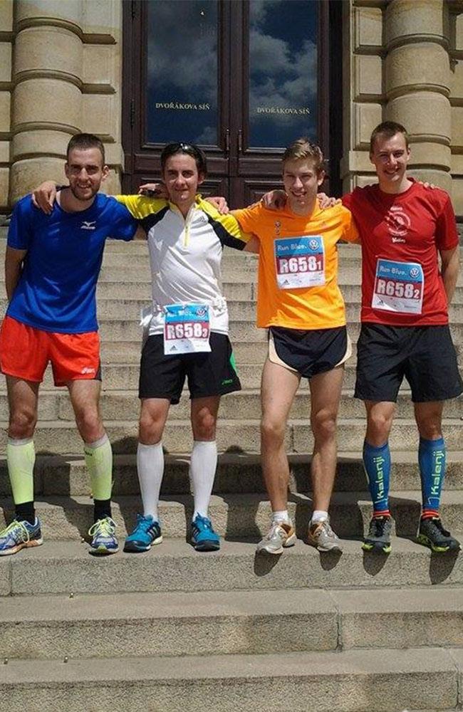 Nové tváře v reprezentační štafetě VŠE na Volkswagen Maraton Praha