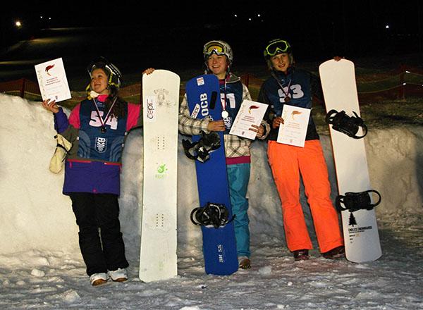 Studenti VŠE na AM ČR ve snowboardingu
