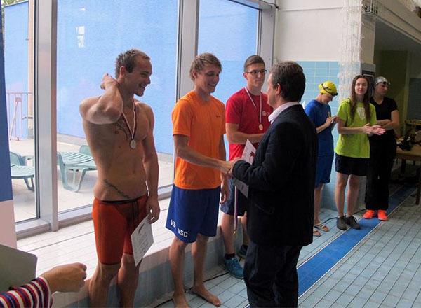 Plavci školy na Českých akademických hrách 2015