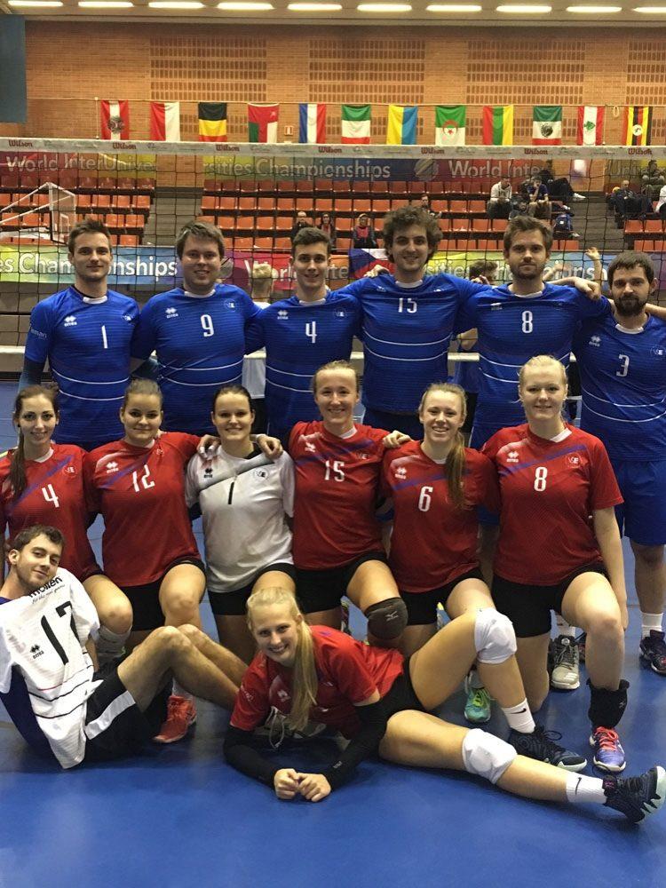 Volejbalisté VŠE reprezentovali na Světovém šampionátu univerzit v Barceloně