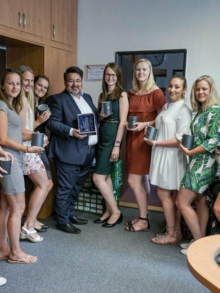 Reprezentační tým žen FFÚ je vítězem 7. ročníku Volejbalové ligy VŠE
